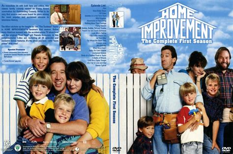 home improvement season 1 tv dvd custom covers