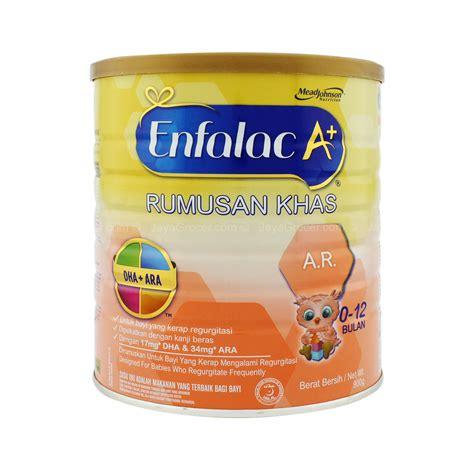 Formula Enfalac Jaya Grocer Enfalac A A R 0 12 Months Infant Formula