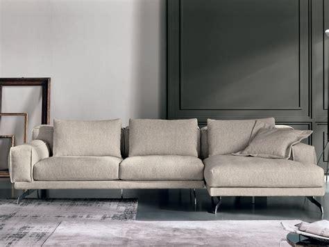 sofa e divani nando divano con chaise longue collezione nando by max divani