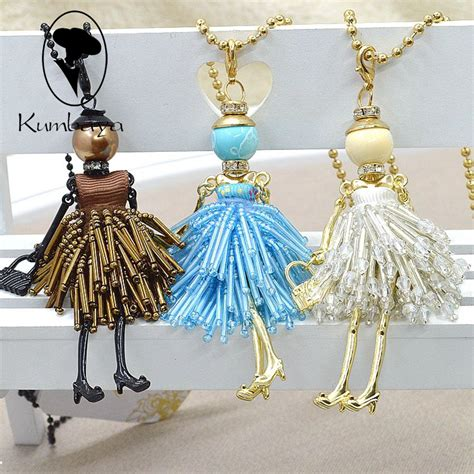 fashion doll necklace new fashion doll necklace doll