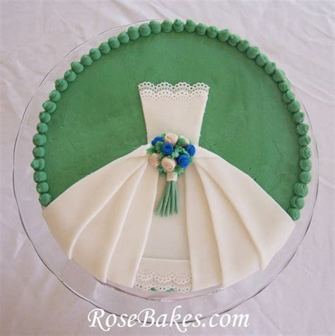 cake ideas bridal shower wedding dress bridal shower cake