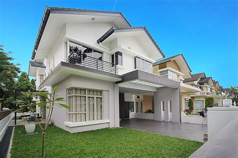 home exterior design malaysia semi detached house exterior design in malaysia front design