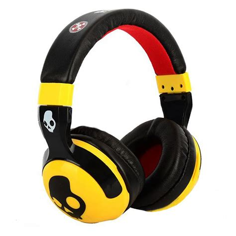 Skull Candy Hash Paul Frank Series Replica Headphones   Yellow