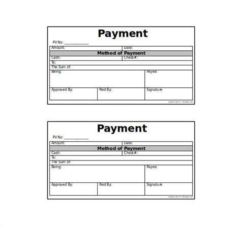 Credit Voucher Format Word Voucher Template Pictures To Pin On Pinsdaddy