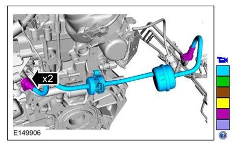 location of evap purge valve solenoid for 2012 ford focus