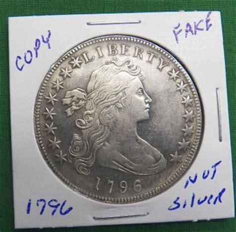 fake 1796 silver dollar