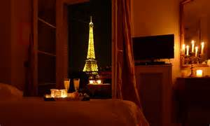 Red Bedroom Decorations - eiffel tower apartment in paris