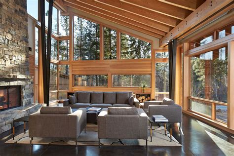 Clearstory Windows Decor Mazama House In Methow Valley Washington