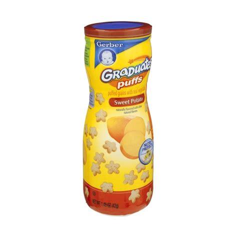 Gerber Puffs gerber graduates vegetable puffs sweet potato
