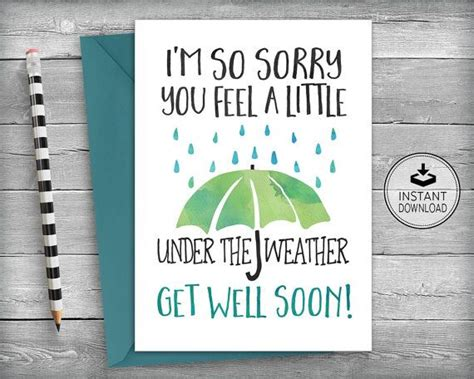Speedy Recovery Card Template by 17 Best Speedy Recovery Quotes On Get Well
