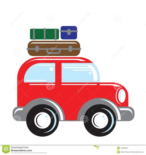 car travel car traveling stock vector illustration of leaving wheels 10308445