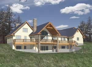 Hillside Walkout Basement House Plans house plan alp 0583 chatham design group house plans