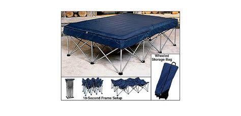 cabela s folding air bed frame with air bed and cabela s