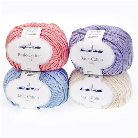 Basic Cotton basic cotton junghans wolle 8 versch farben