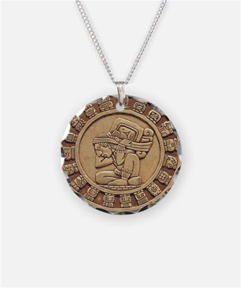 Calendar Necklace Mayan Jewelry Mayan Designs On Jewelry Cheap Custom