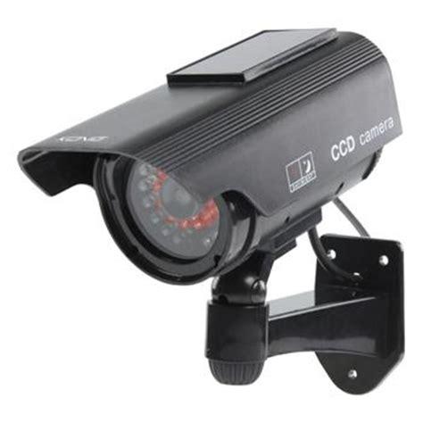 cctv dummy beveiligingscamera met zonnepaneel en