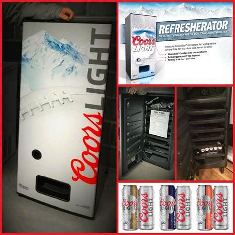 coors light fridge dispenser coors light refrigerator dispenser decoratingspecial com