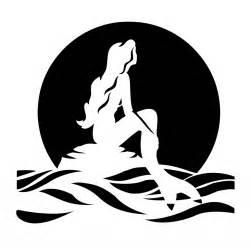 8 best images of little mermaid printable stencils ariel