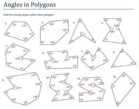 pictures angles of polygons worksheet getadating