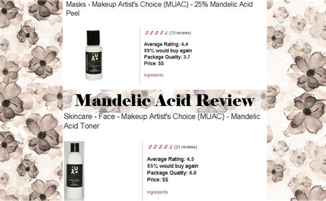 mandelic acid toner from makeup artists choice makeup artist s choice mandelic acid toner mugeek vidalondon