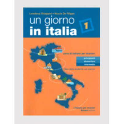 libro un giorno in italia un giorno in italia libro dello studente con esercizi and cd audio judy de filippo