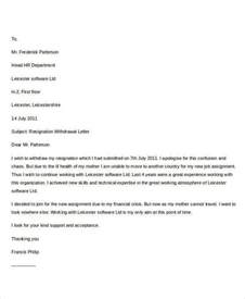 Resignation Acceptance Letter Sle by 31 Formal Resignation Letters