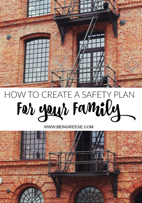 how to create a and safety plan for your family