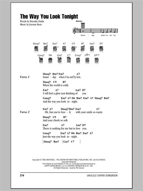 strumming pattern for you look wonderful tonight tablature guitare the way you look tonight de frank