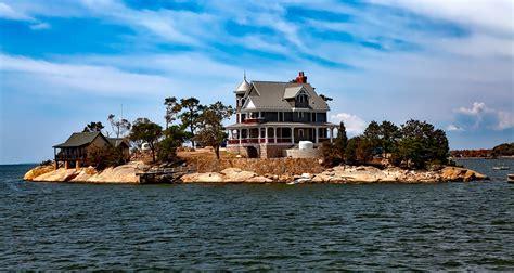 Island House by Free Photo Thimble Islands Island House Free Image On