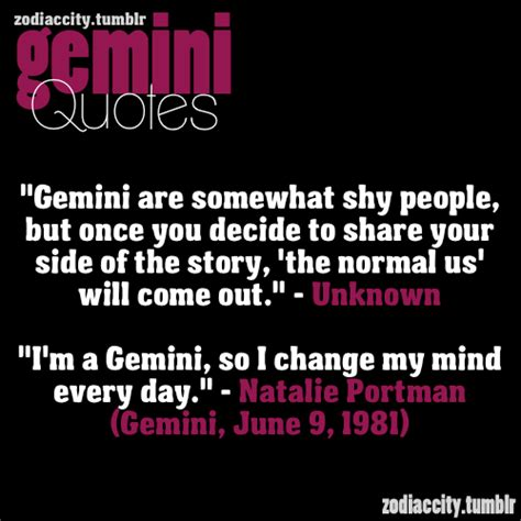 gemini zodiac sign quotes quotesgram