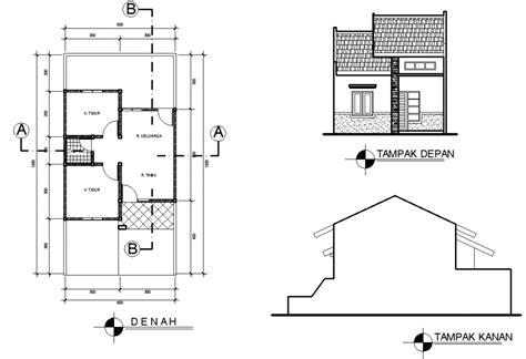 gambar denah desain rumah minimalis type    kumpulan desain rumah minimalis