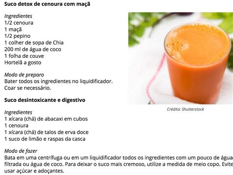 Detox Succo by Sucos Detox Dieta J 225 Detox