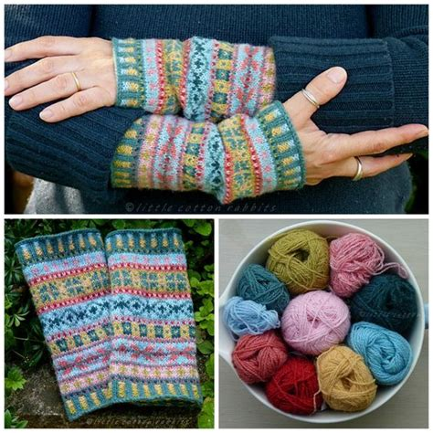 free fair isle knitting patterns this free fair isle mittens pattern is for using