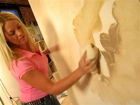 how to color wash walls decorative paint technique color washing a wall how tos