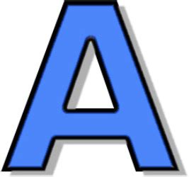 In A by Letter A Dr