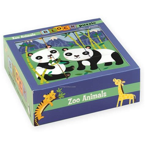 Puzzle Block Animal Geo Animal zoo animals block puzzle china wholesale zoo animals block puzzle