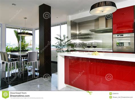 image of kitchen design interior design kitchen stock photo image of gloss