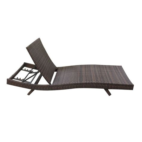 wicker pool lounge chairs 79 quot outdoor patio furniture pe wicker adjustable pool