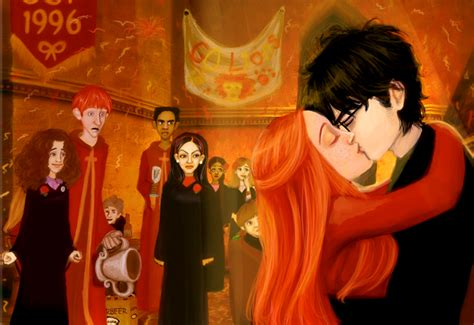 ginny moon a novel books were you happy when harry kissed ginny in the books