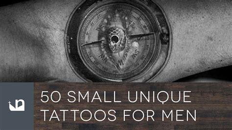 small unique tattoos for men 50 small unique tattoos for
