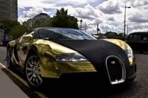 Bugatti Veyron Gold And Black And Gold Bugatti Veyron