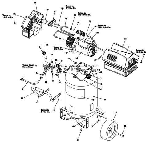 sears craftsman 919 167780 919 167783 air compressor parts