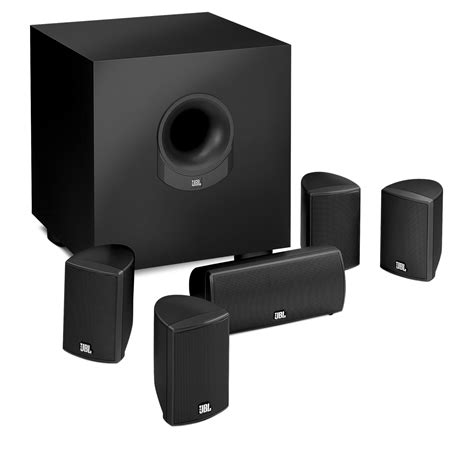 scs145 5 5 1 home theater speaker with realistic
