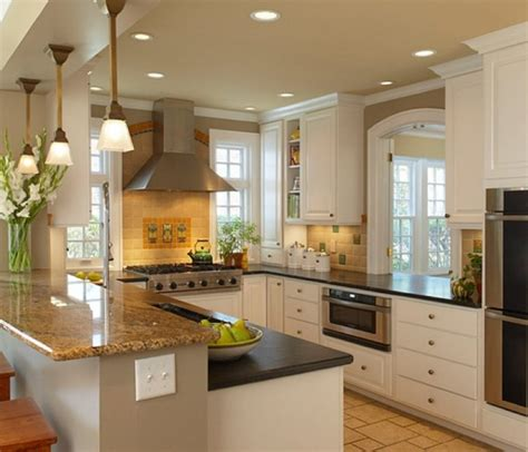 Working Kitchen Designs U Shaped Kitchen Large Working Space That Runs Freely Interior Exterior Ideas