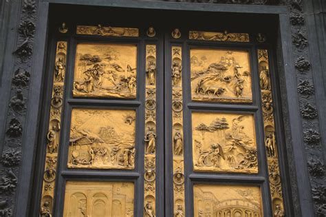 Ghiberti Doors by Ghiberti Doors Panel Of The Doors Exterior Detail