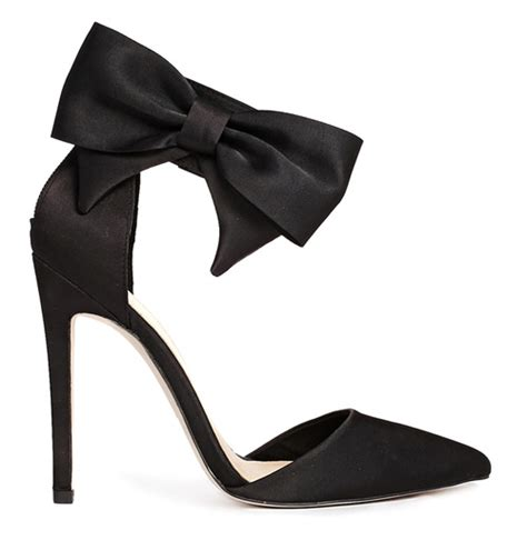 high heels with a bow asos picture high heels with bow ankle