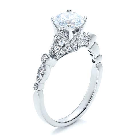unique engagement ring vanna   seattle