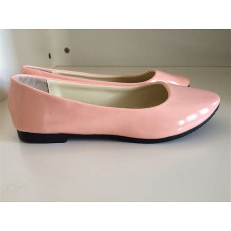 75 shoes light pink flats from miranda s closet on