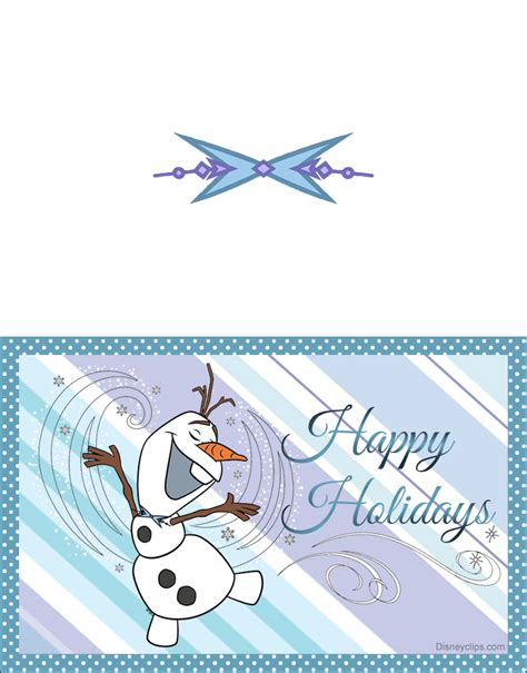 printable frozen christmas cards disneyclipscom