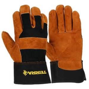 work gloves home depot terra leather mechanics utility medium work gloves
